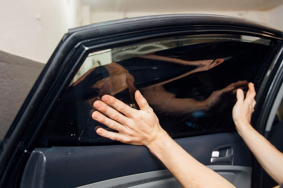 Professional car window tinting